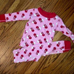 Hanna Andersson Size 80 Heart Pajamas
